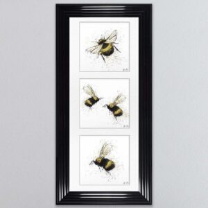 Three Bees Picture 115 x 55
