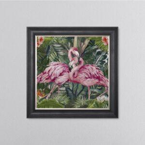 Jungle Flamingo Picture 68 x 68