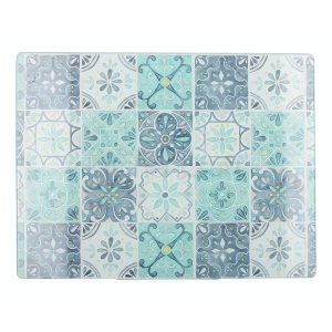 Green Tile Work Surface Protector