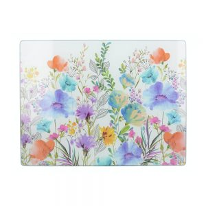 Meadow Floral Work Surface Protector