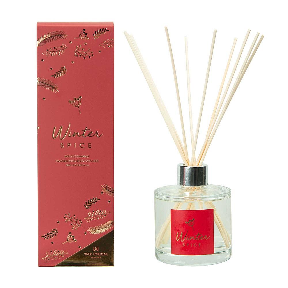 Wax Lyrical Winter Spice Reed Diffuser 180ML
