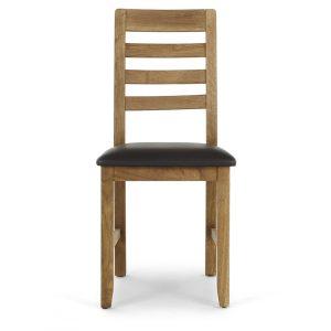 Brooklyn Chair - Brown PU