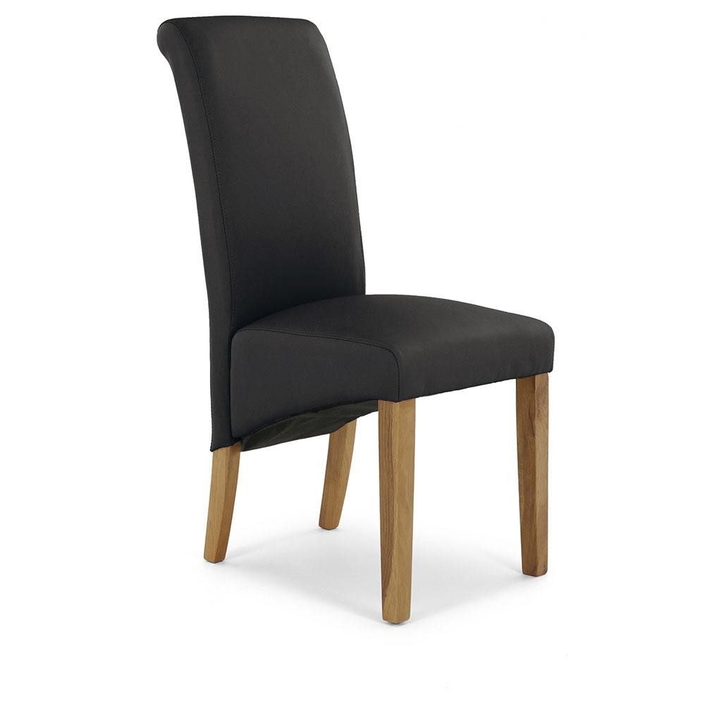 Brooklyn Darcy Chair-  Brown PU