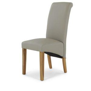 Brooklyn Darcy Chair - Taupe PU