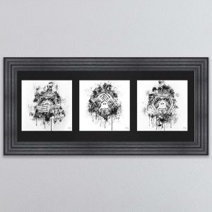 Three Wise Monkeys Picture 115 x 55