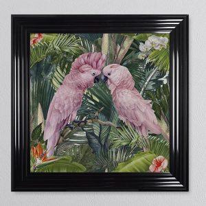 Jungle Cockatoo 68 x 68 Picture