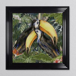 Jungle Toucan Picture 68 x 68